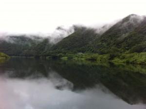カヌーとキャンプ旅 四万十川の日 朝