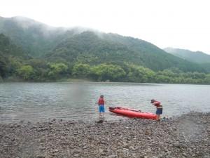 カヌーとキャンプ旅 四万十川ゴール