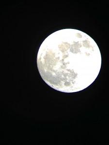 天体望遠鏡 スーパームーン&土星!