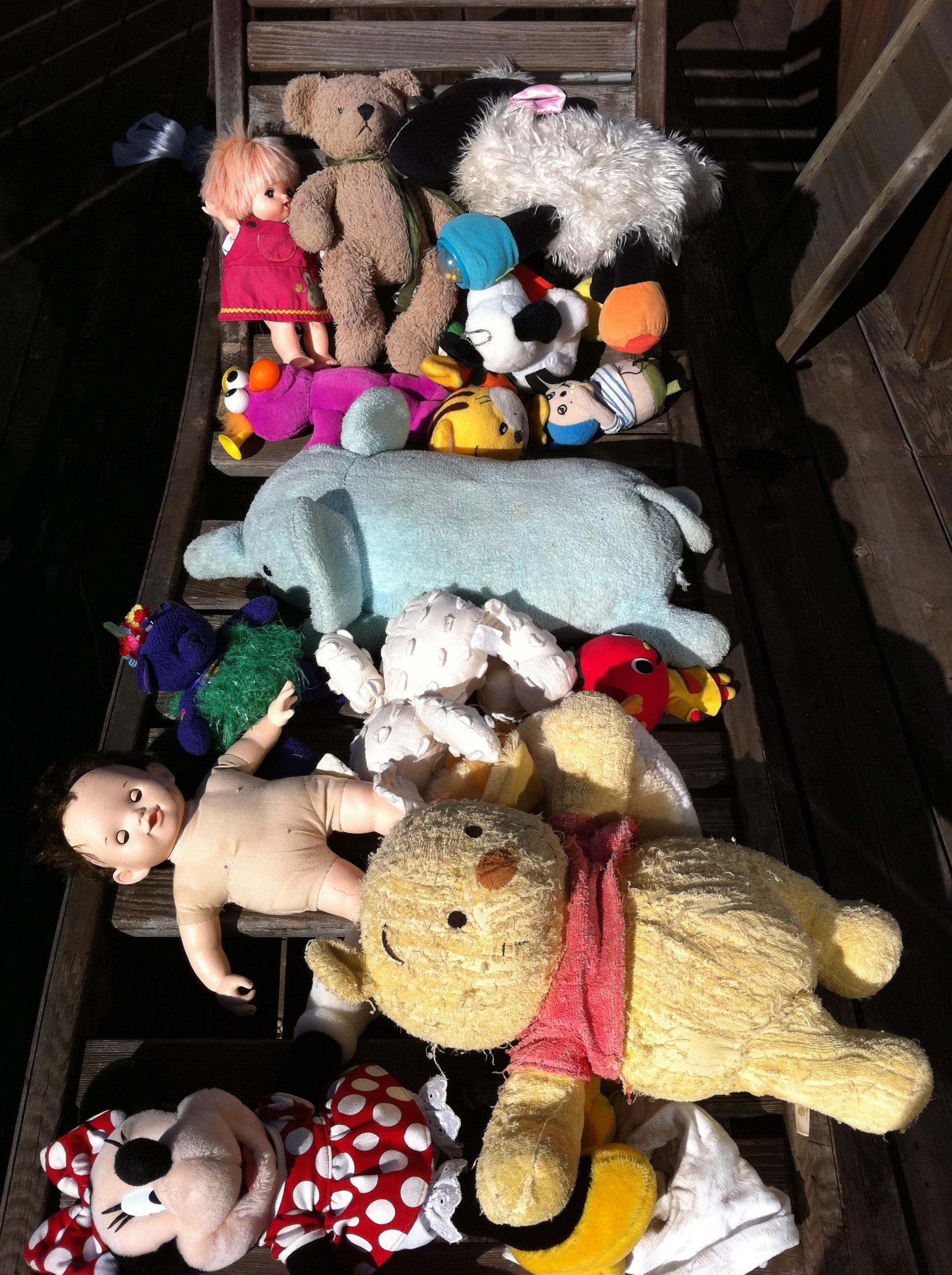 年末 おもちゃの片付けかた?