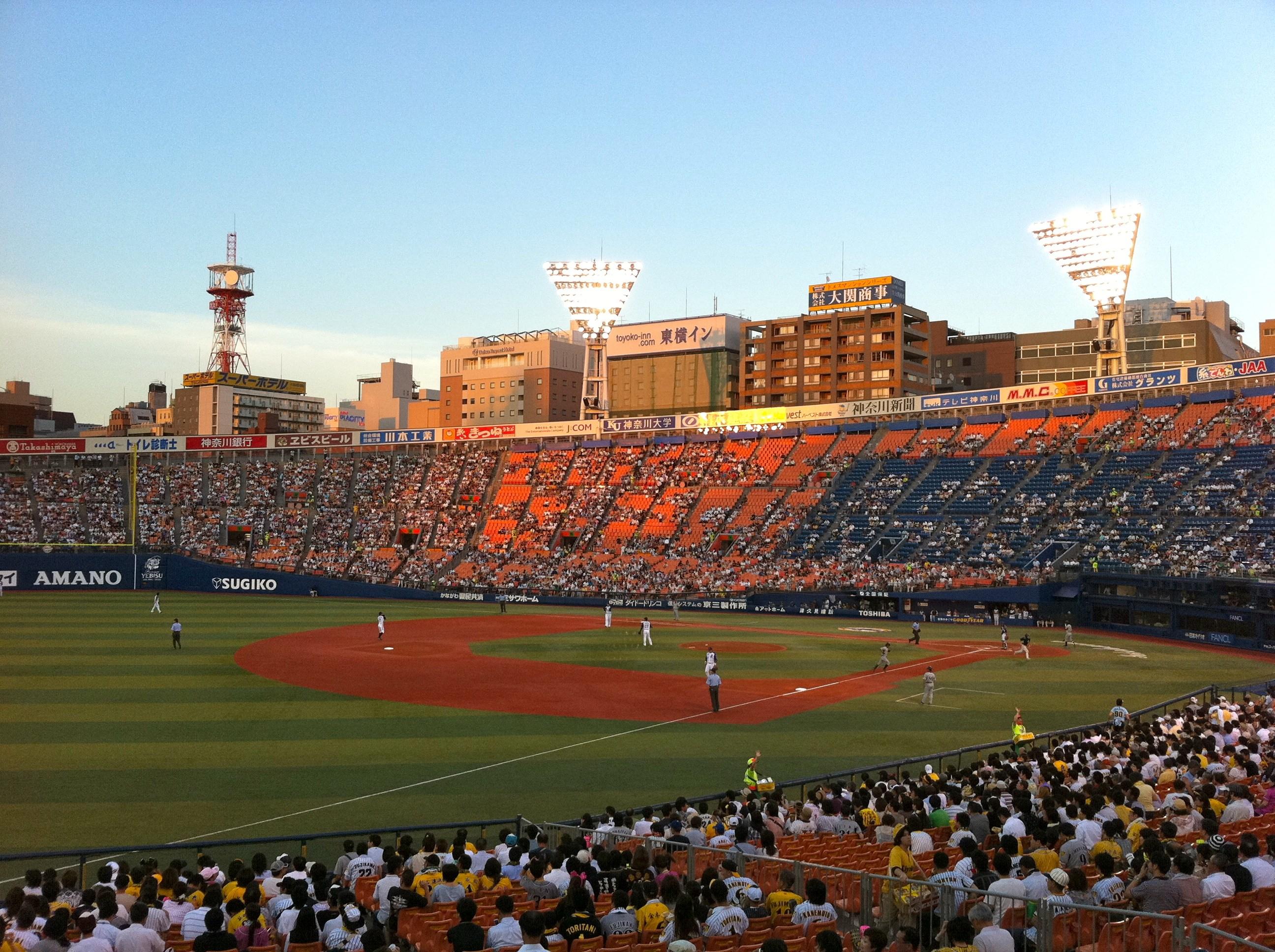 子ども はじめての野球観戦!
