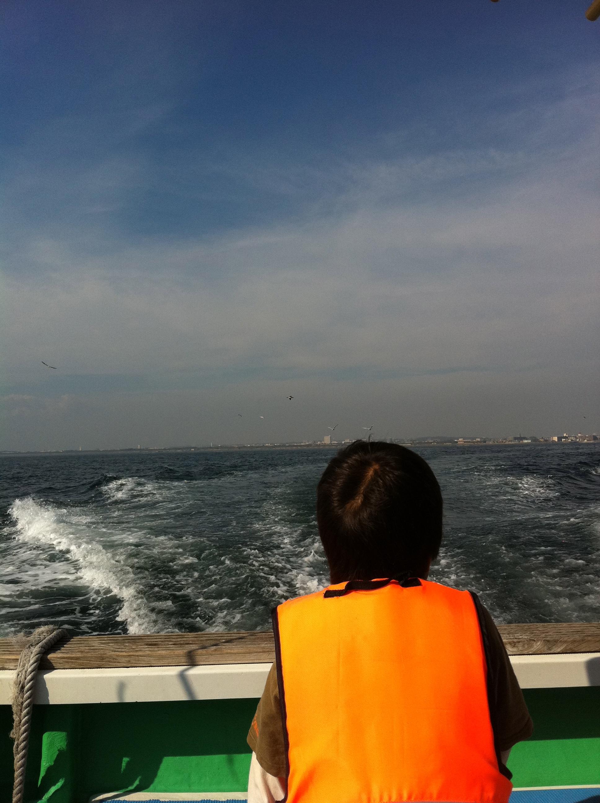 海で 食育!子ども 釣り教室