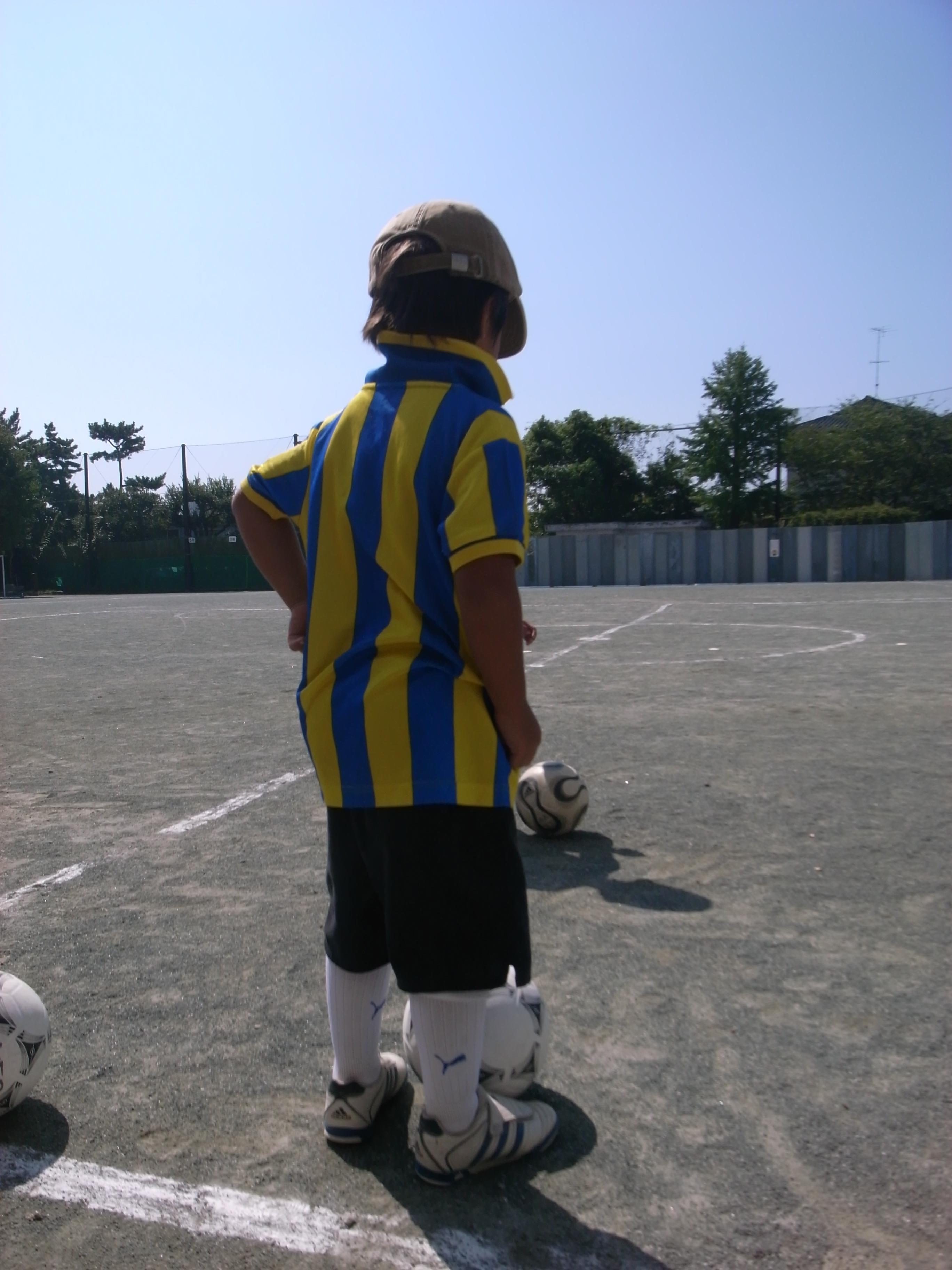 サッカーの格好