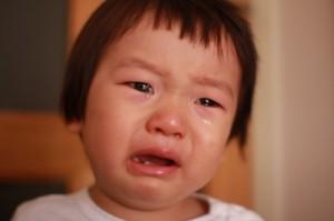 子どもの写真の撮り方「泣くを撮る2」