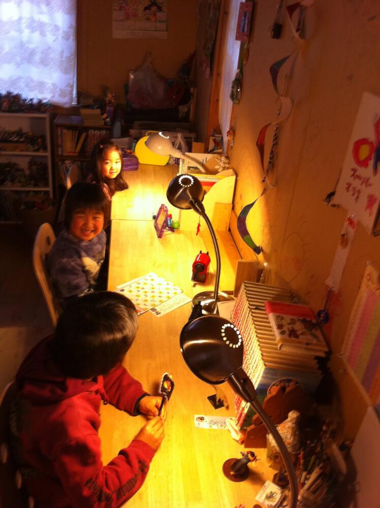 受験生が2人いる、わが家の子ども部屋