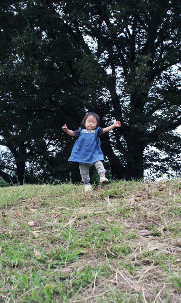 子どもの写真の撮り方 「コケるを撮る3」