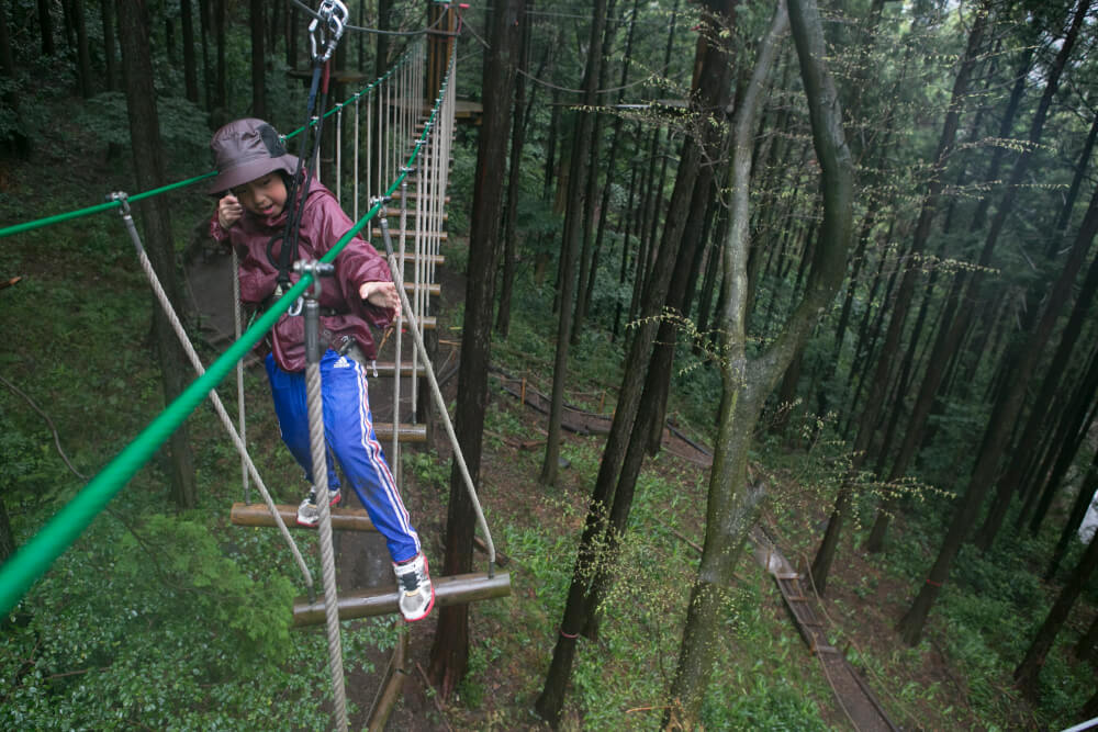 【こんな時をせっかくの機会に!】だったら木の上に行こう!フォレストアドベンチャーへ