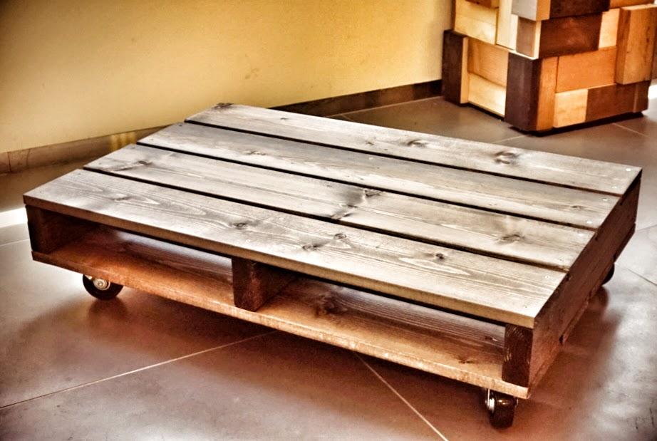 【オトンの夏休みにDIY!! 】すのこローテーブル、キャスター付き
