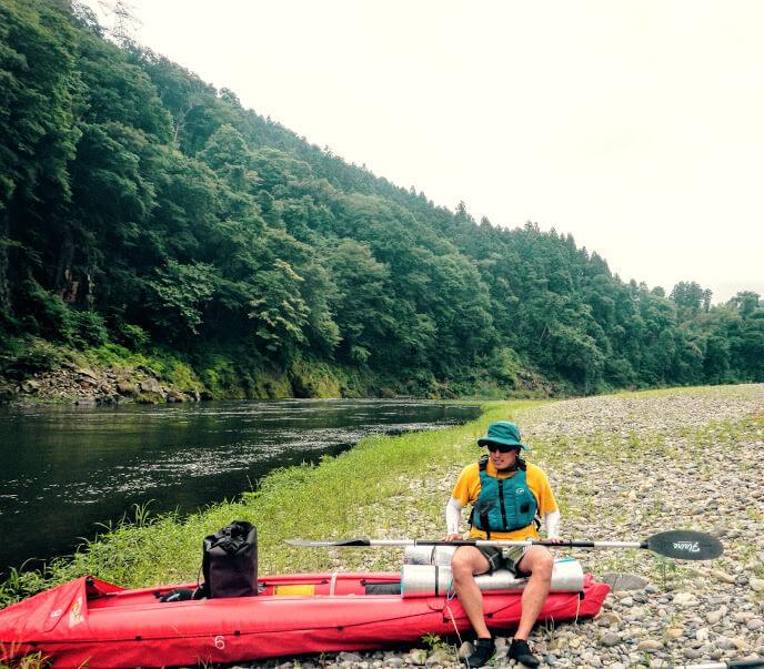 漕ぐ3 ! 那珂川カヌーキャンプ行ってきました。