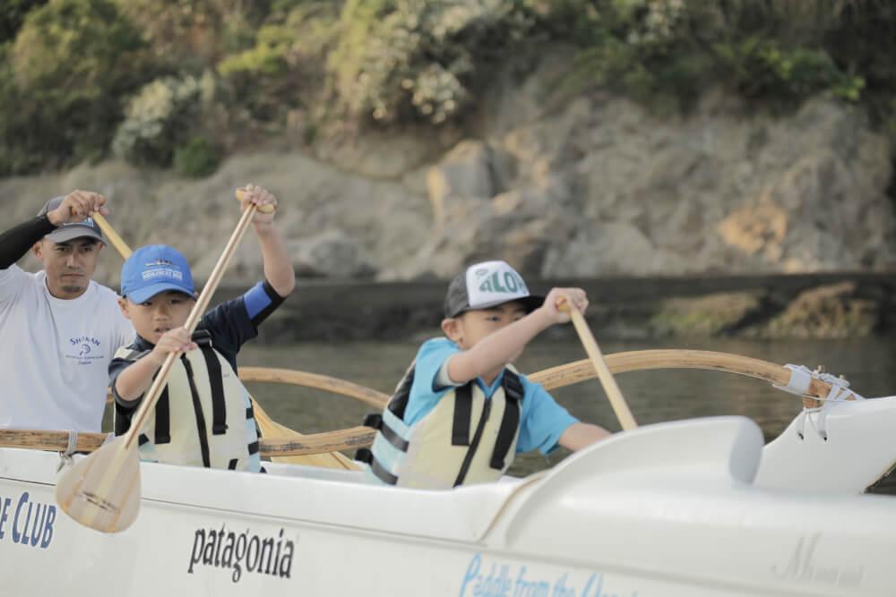 漕ぐ!この夏はパドルスポーツをはじめよう1。アウトリガーカヌーの巻