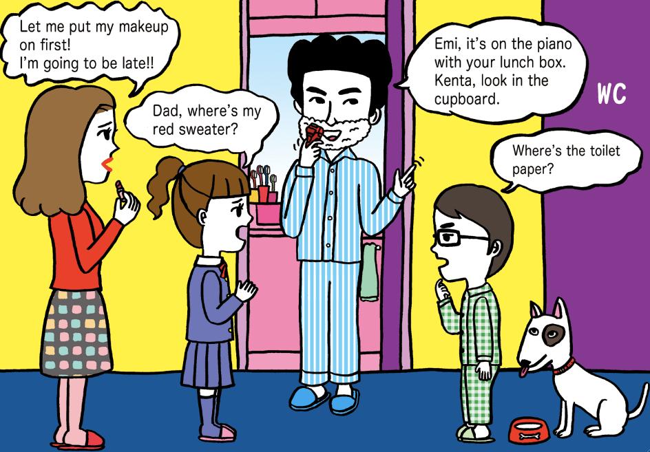 「オトンと学ぶ英会話」〜親子で英会話