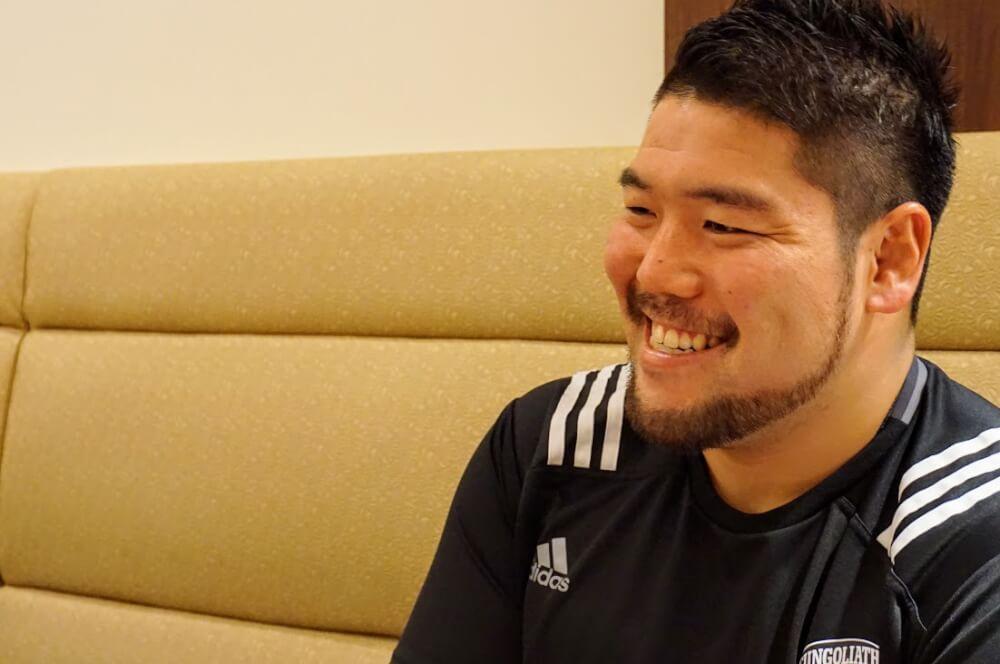ラグビー日本代表 サントリーサンゴリアス 畠山健介さん